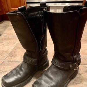 Women's Harley Davidson Motorcycle Boots
